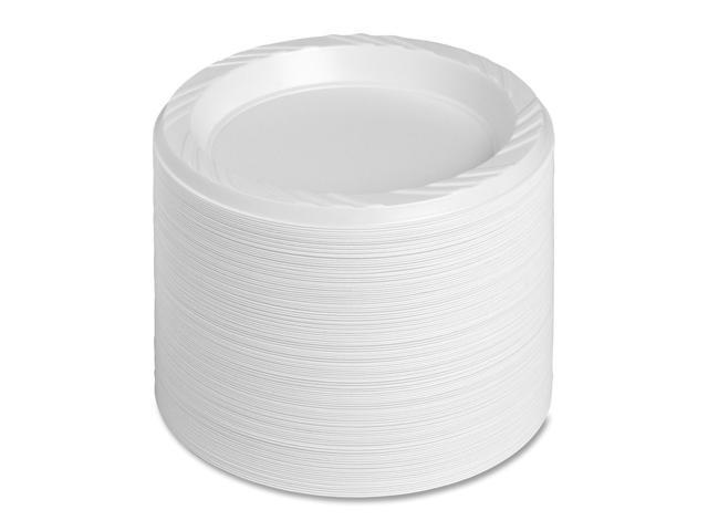 Genuine Joe Reusable/Disposable Plate
