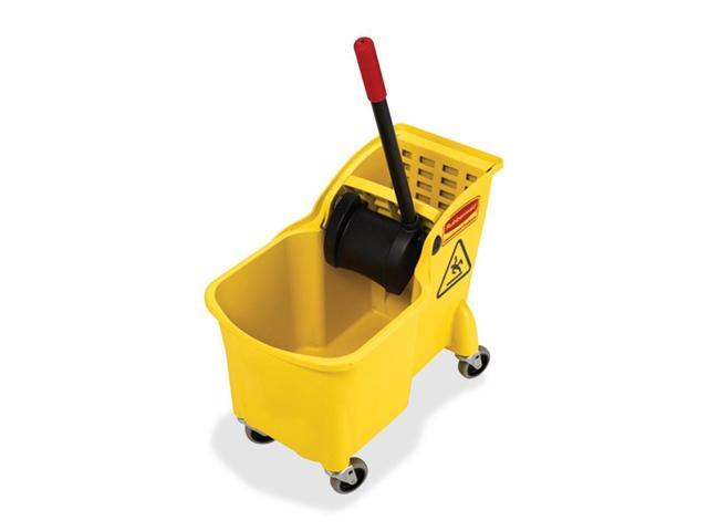 Rubbermaid Tandem Bucket and Wringer Combo