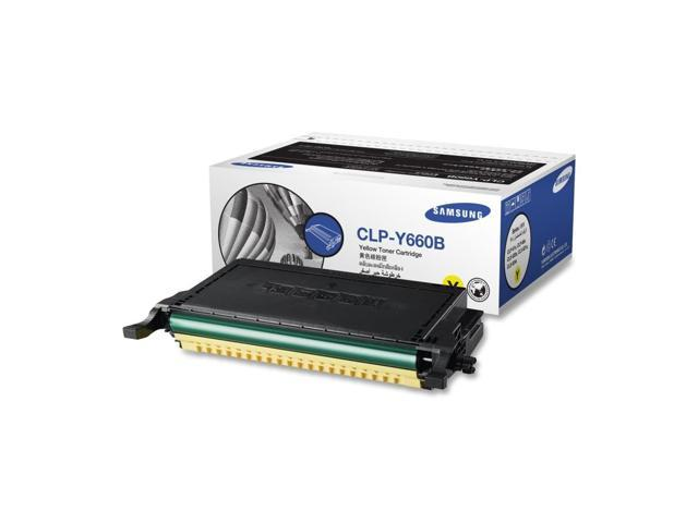 Samsung CLP-Y660B High Capacity Toner Cartridge