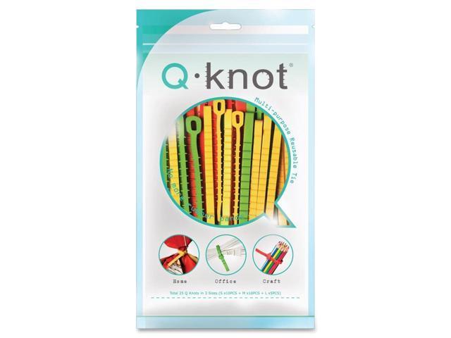 Ko-Rec-Type Reusable Q-Knot Ties