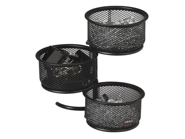 Rolodex Expressions Wire Mesh 3-Tier Swivel Tower