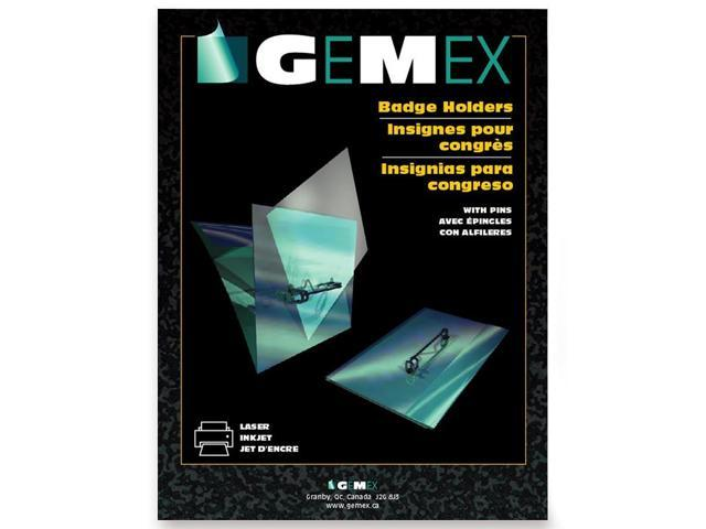 Gemex Name Badge Holder With Pins