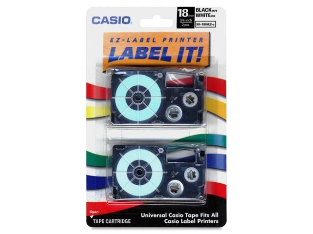 Casio XR-18WE2S Casio Label Tape - 0.71