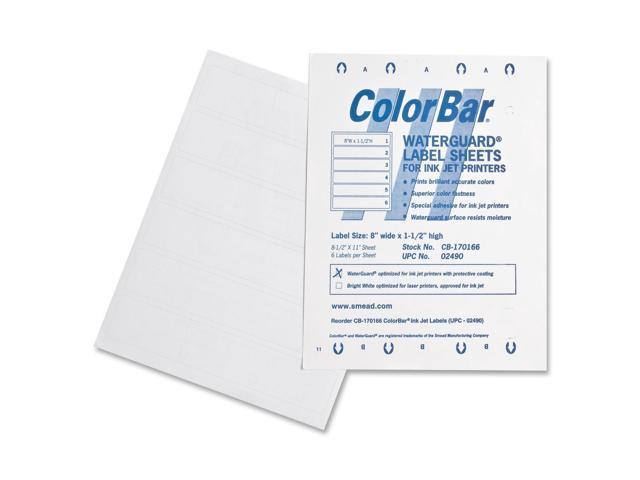 Smead ColorBar WaterGuard 02490