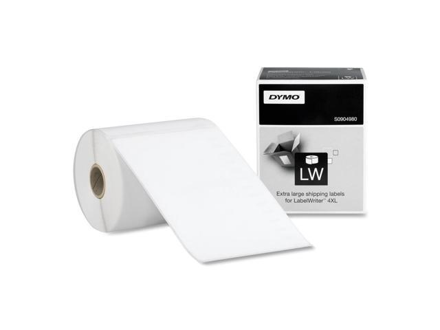 Dymo Black on White Shipping Label