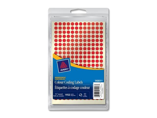 Avery 14001 Color Coding Label