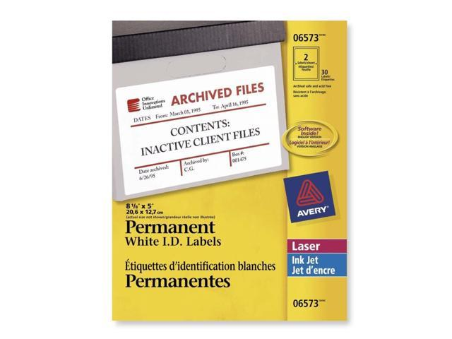 Avery Identification Label