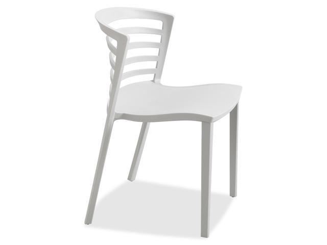 Safco Entourage Stack Chair - Gray (quntity. 4)