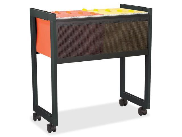 Safco 5352BL Adjustable Mobile File Cart