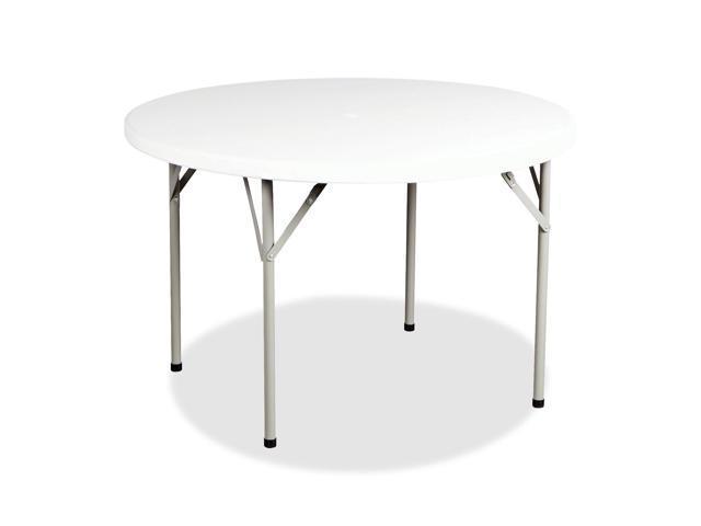 Heartwood Lightweight Polypropylene Round Folding Table