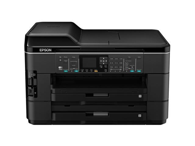 Epson WorkForce WF-7520 Inkjet Multifunction Printer - Color - Plain Paper Pri