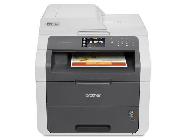 Brother MFC-9130CW LED Multifunction Printer - Color - Plain Paper Print - Des