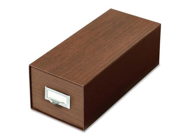 Globe-Weis Index Card Box With Follower Block