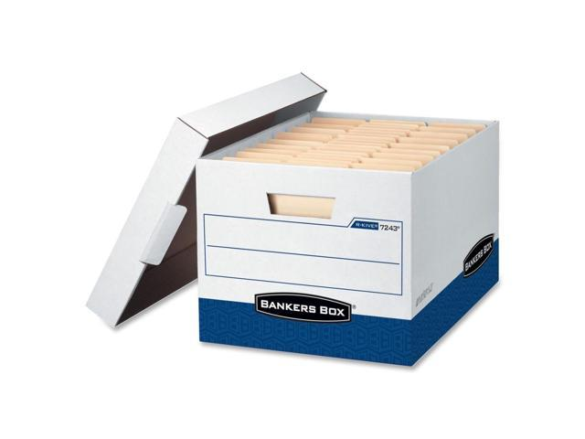 Bankers Box R-Kive - Letter/Legal, White/Blue - TAA Compliant