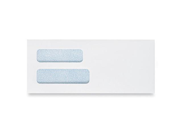 Quality Park Double View Window Business Envelope