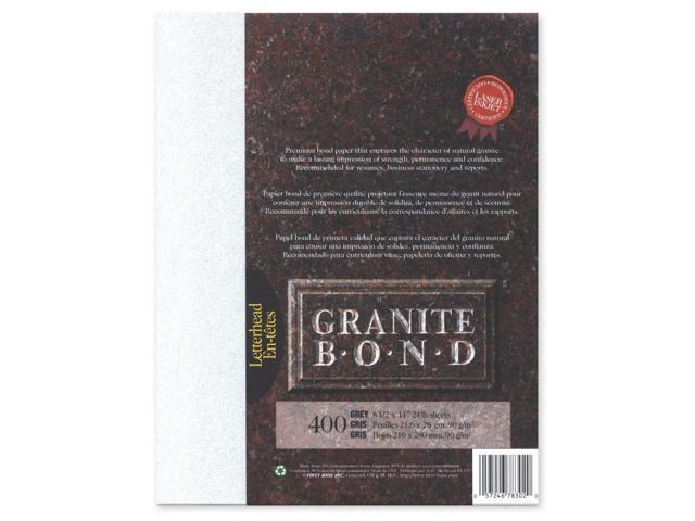First Base Granite Bond Laser Paper