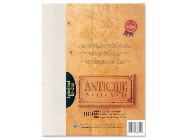 First Base Antique Bond 78722 Bond Paper