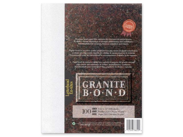 First Base Granite Bond 78812 Laser Paper