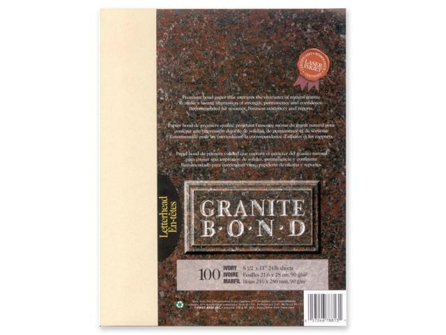 First Base Granite Bond Laser Paper