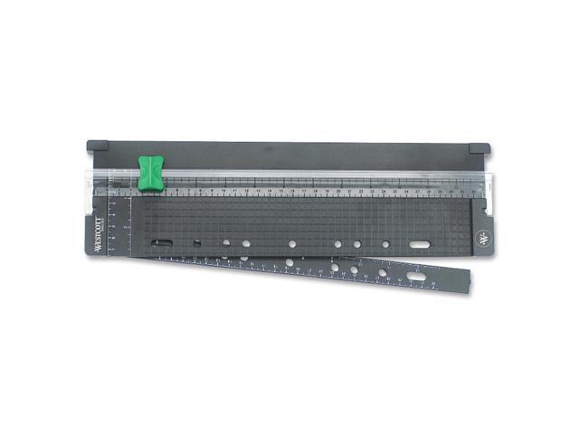 Westcott KleenEarth Trimmer with Swing Out Ruler