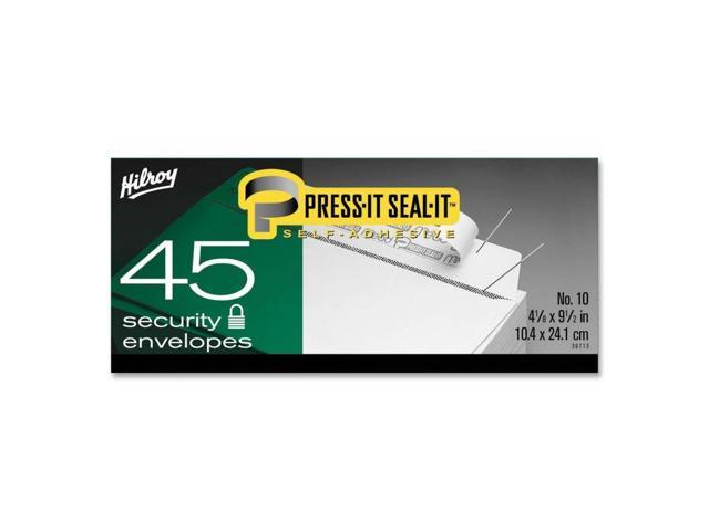 Hilroy Press-It Seal-It Self Adhesive Envelope