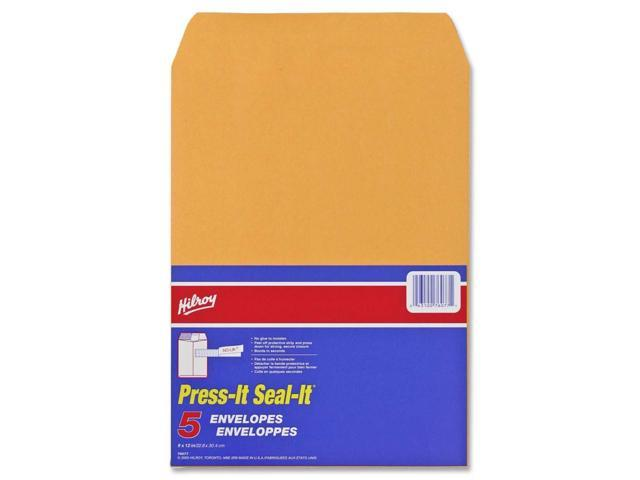 Hilroy Hilroy Press-It Seal-It Self Adhesive Envelope