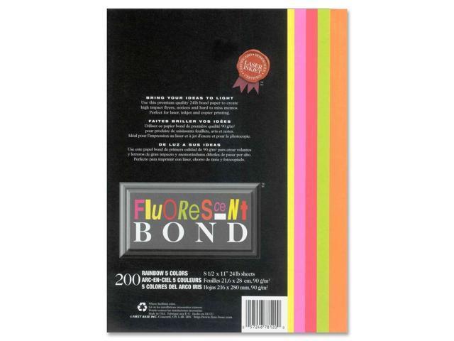 First Base Fluorescent Bond Laser Paper
