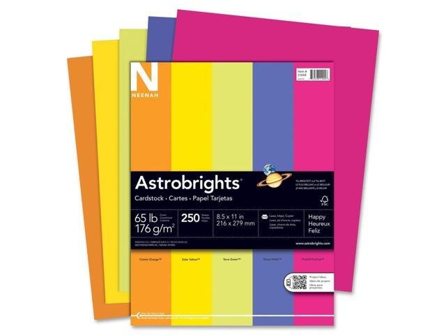Astrobrights Card Stock