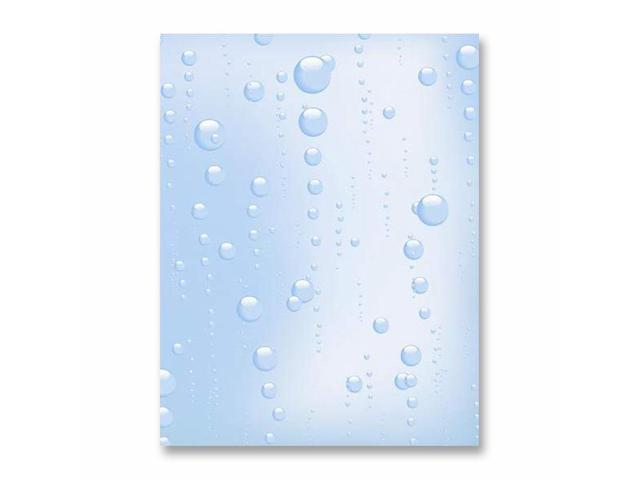 First Base 83182 Bubbles Design Stationery Paper