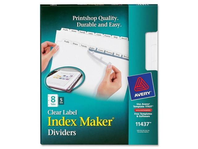 Avery Label Divider