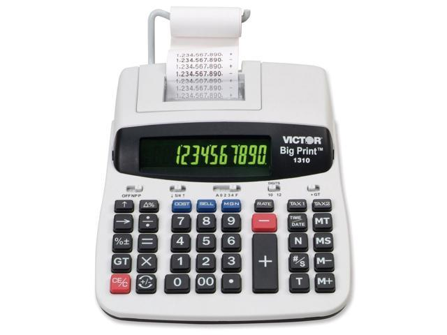 Victor 1310 Printing Calculator