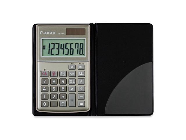 Canon LS63TG Handheld Tax Calculator