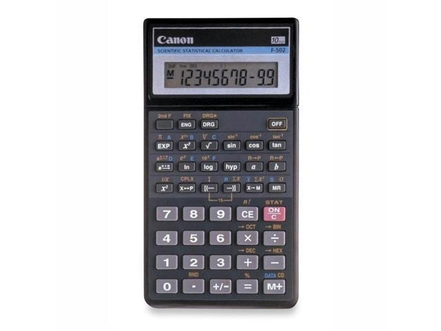 Canon F502G Scientific Statistical Calculator