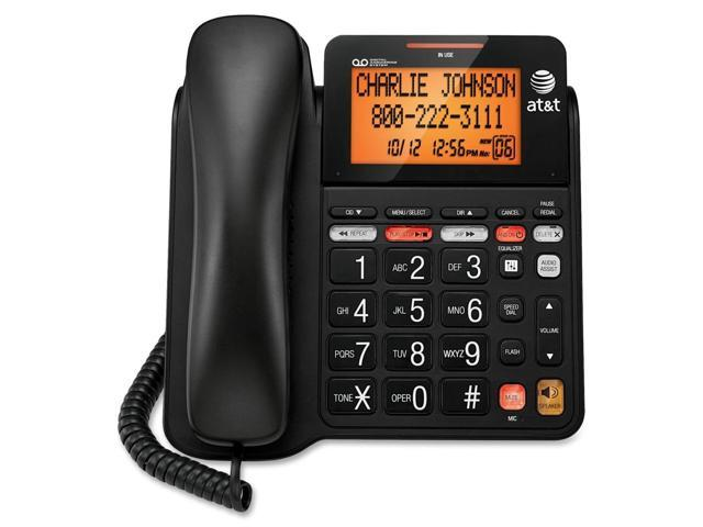 AT&T CL4940 Standard Phone - Black