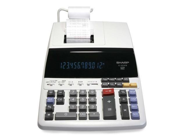 Sharp EL2615PIII Heavy-Duty Printing Calculator