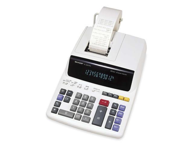 Sharp EL2607RIII Desktop Calculator