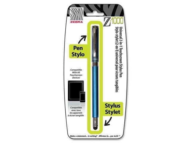 Zebra Pen Z-1000 Ballpoint/Stylus Combo Pen