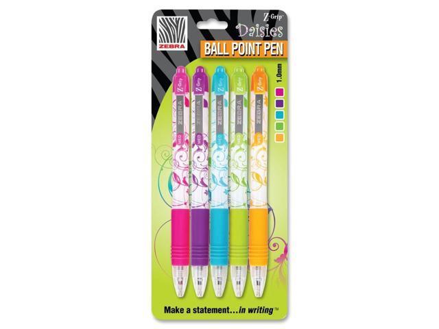 Zebra Pen Z-Grip Daisies Ballpoint Pen