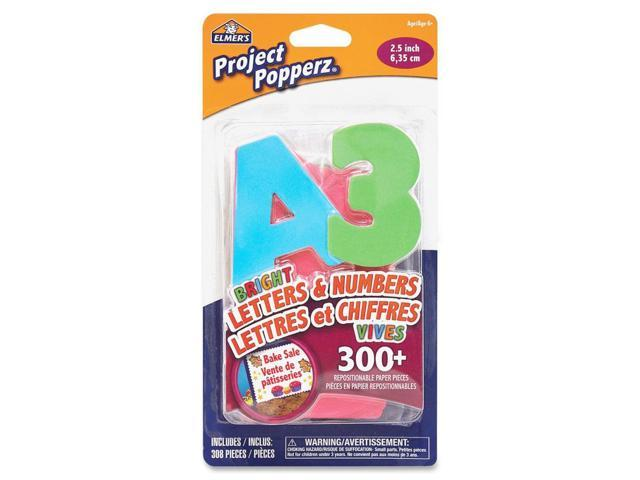 Elmer's Project Popperz Stick-On Letters
