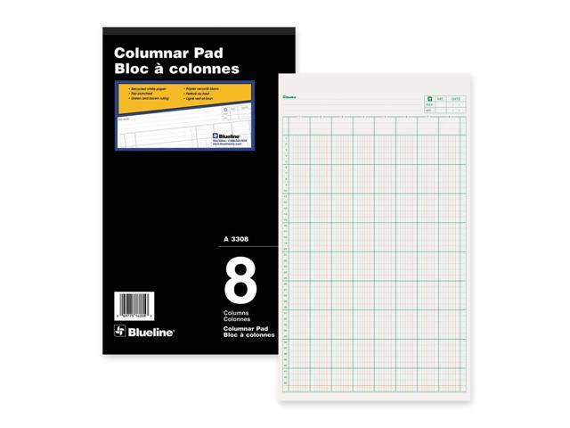 Blueline Columnar Pad