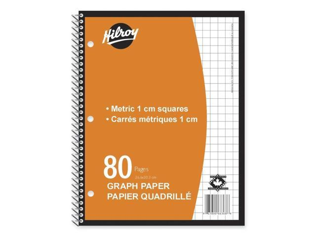 Hilroy Metric Graph Paper Coil Notebook