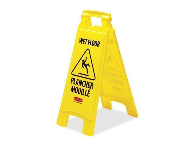 Rubbermaid Wet Floor Caution Sign
