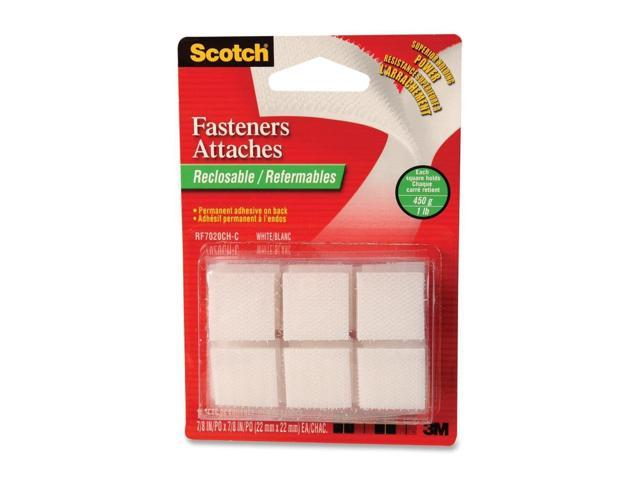 Scotch Reclosable Fastener Squares