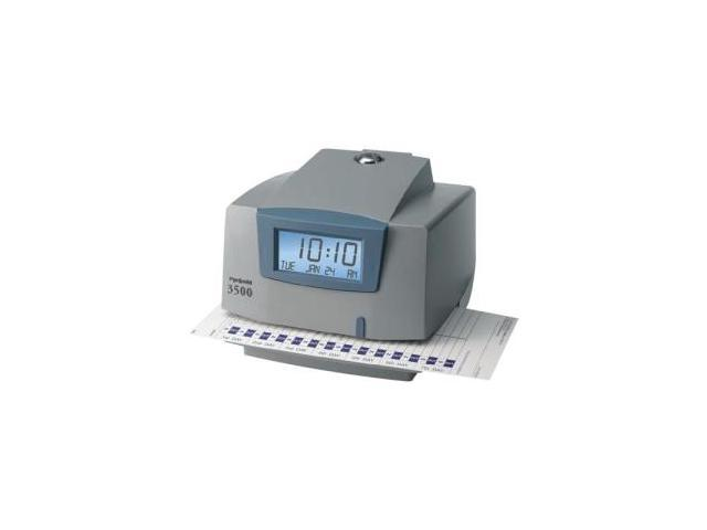 Pyramid 3500 Time Clock & Document Stamp
