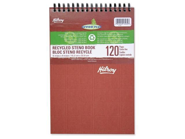 Hilroy 53010 Enviro Plus Recycled Steno Book