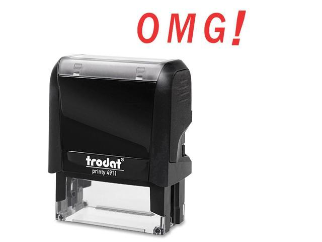 Trodat Printy OMG! Self-Inking Expression Stamp