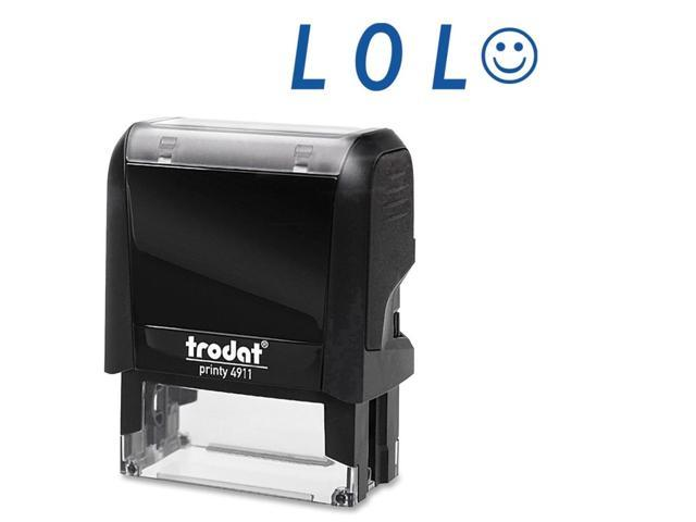 Trodat LOL Smiling Face Self Ink Expression Stamp