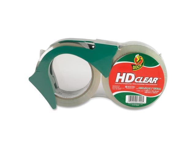 Duck Duck Brand Heavy-Duty Crystal Clr Box Sealing Tape