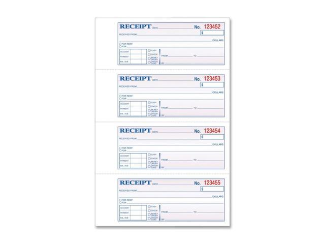 TOPS Manifold Receipt Book