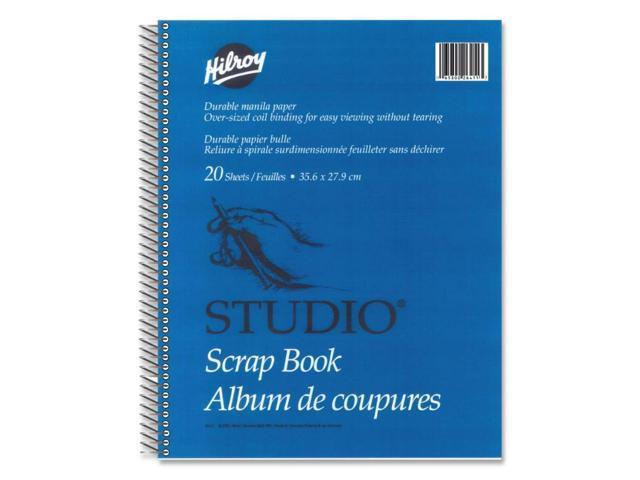 Hilroy Coil Scrapbook
